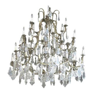 Palatial Crystal Chandelier