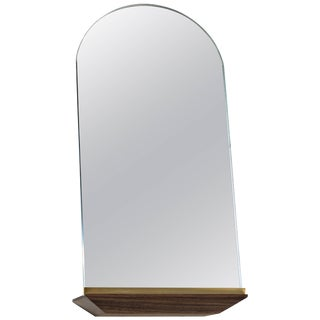Propped Daily Use Arched Mirror by Phaedo For Sale