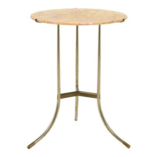 Cedric Hartman Marble Side Table For Sale