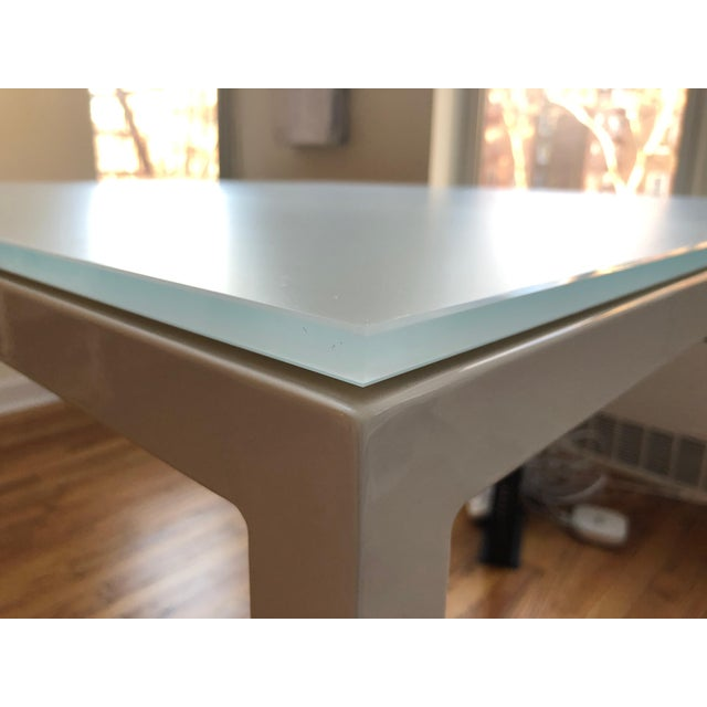 Room & Board Room and Board Custom Pratt Table For Sale - Image 4 of 10