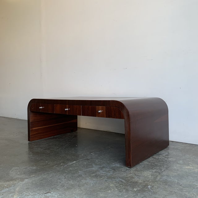 Low Profile Art Deco Coffee Table For Sale - Image 13 of 13