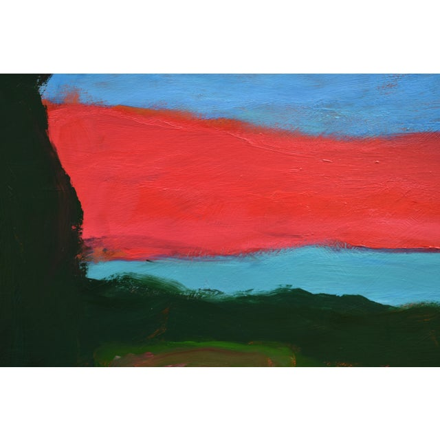 "Stephen Remick 2010s Abstract Painting, ""Sunset over Fields"" by Stephen Remick For Sale - Image 4 of 10"