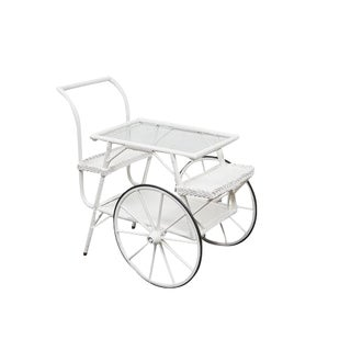 Wicker Drinks Cart For Sale