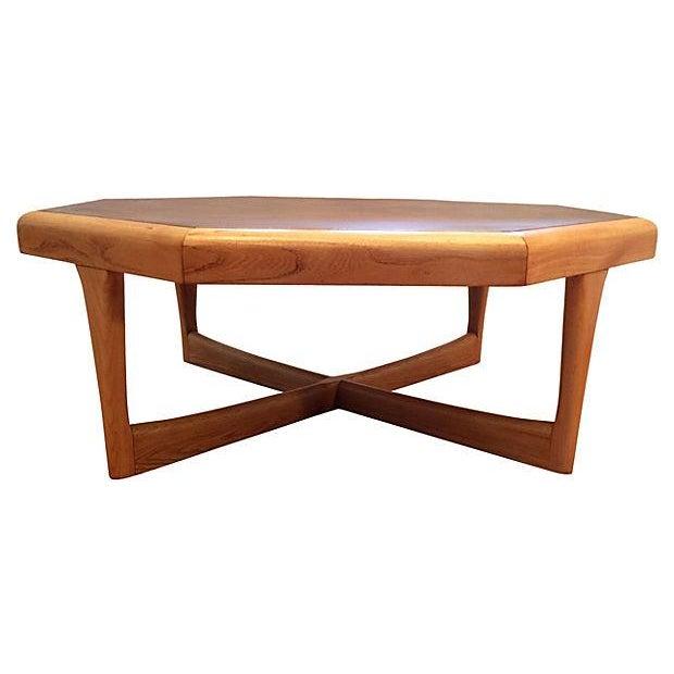 Lane Furniture Octagonal Coffee Table - Image 1 of 5