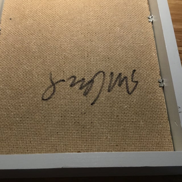 "Steve Klinkel Resin Botanical Framed 9x11"" For Sale - Image 4 of 5"