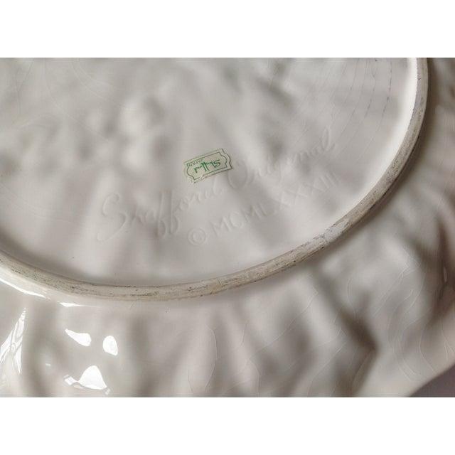 Majolica Lobster & Cabbage Leaf Platter For Sale - Image 12 of 12