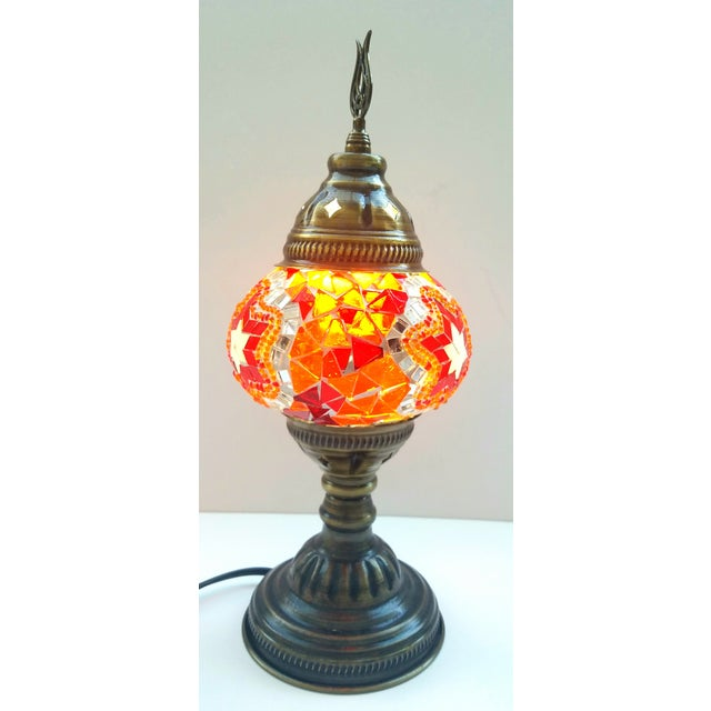Mosaic Handmade Table Lamp - Image 3 of 5