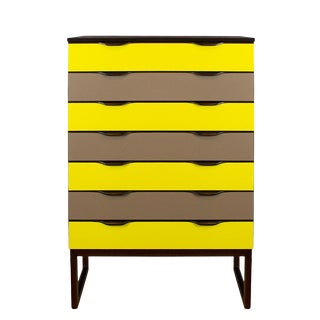 "1960´s Chest of Drawers ""Semainier"", Mahogany, Formica - Czech Republic For Sale"