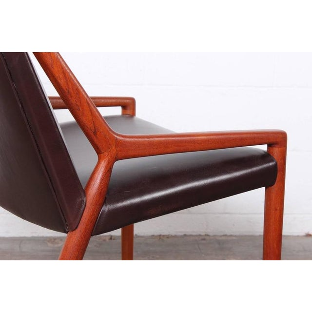 Lounge Chair by Ejner Larsen and Axel Bender Madsen for Willy Beck - Image 4 of 10