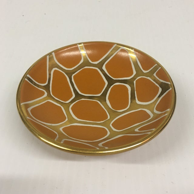 Contemporary Contemporary Giraffe Pattern Bowl For Sale - Image 3 of 6