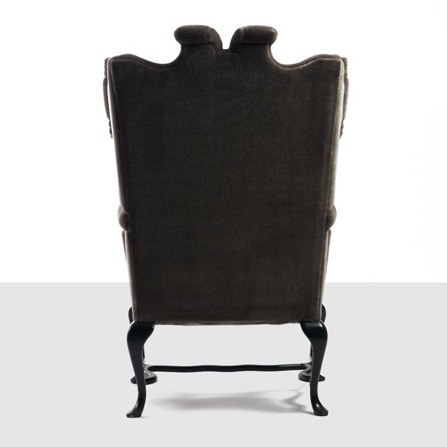 Arturo Pani Wingback Chairs For Sale In San Francisco - Image 6 of 13