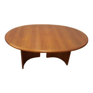 1980s Danish Conference Room Table For Sale