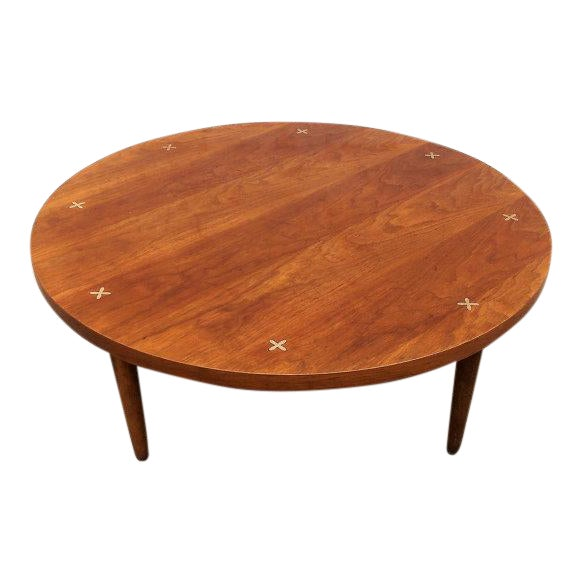 American Of Martinsville Round Coffee Table