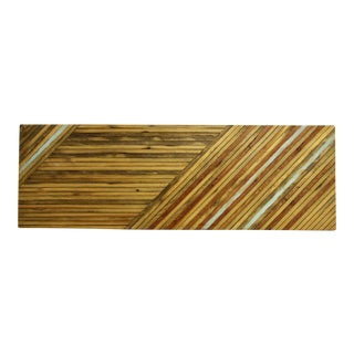 Reclaimed Wood Plank Art Panel For Sale