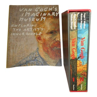 """Van Gogh as a Man & His Art"" Books - 2 Vol. Box Set - Free Media Shipping to Lower 48 States For Sale"