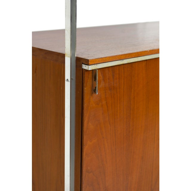 Hugh Acton Walnut and Aluminum Cabinet by Hugh Acton For Sale - Image 4 of 13