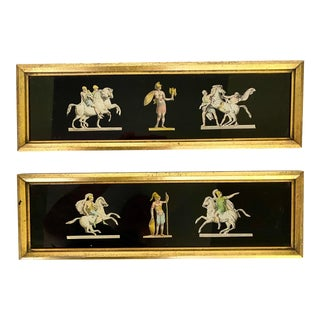 Vintage Neoclassical Greco Roman Prints- a Pair For Sale