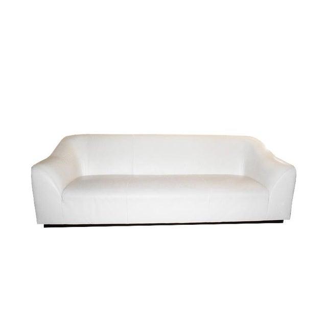Metal Late 20th Century Eric Jourdan for Ligne Roset Snowdonia Modernist Sofa For Sale - Image 7 of 8