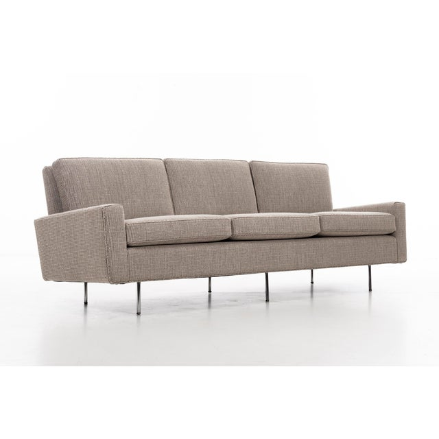 1950s Vintage Florence Knoll Sofa For Sale - Image 9 of 12