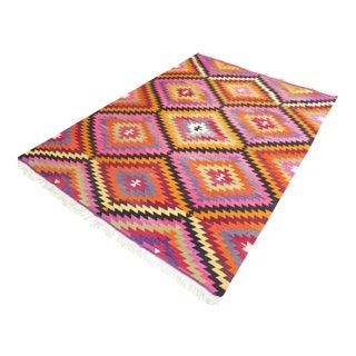 Gorgeous Diamond Kilim Rug