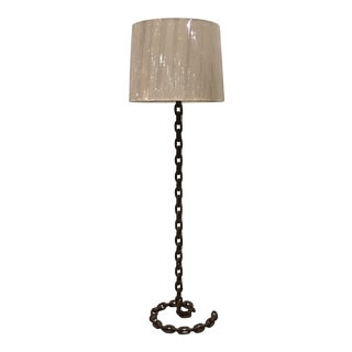 Arteriors Chain Link Lamp by Barry Dixon