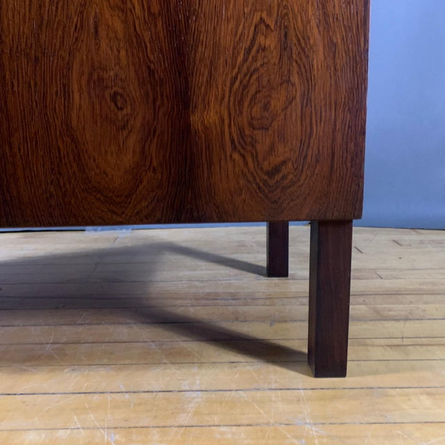 Kai Kristiansen Rosewood Hydraulic Bar Cabinet, 1968 For Sale - Image 10 of 12