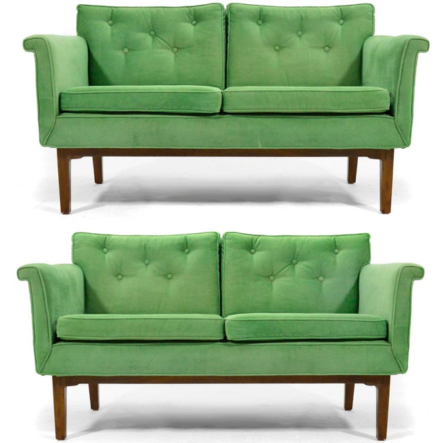 Edward Wormley Pair of Sofas / Settees For Sale - Image 10 of 10