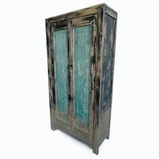 Vintage Elm Storage Cabinet Preview