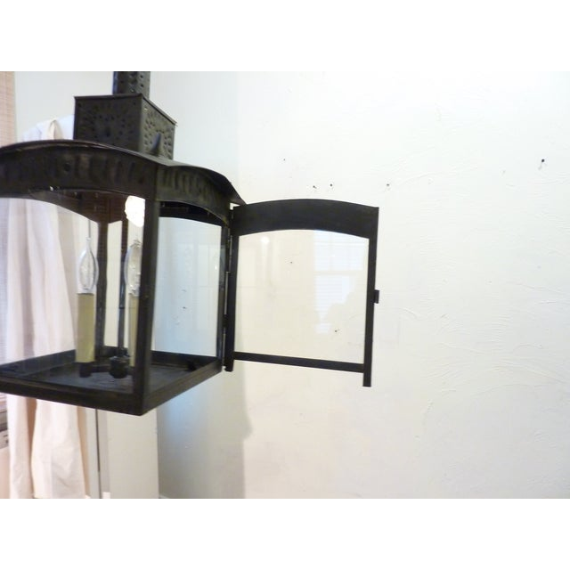 American Tin Lantern For Sale - Image 4 of 8
