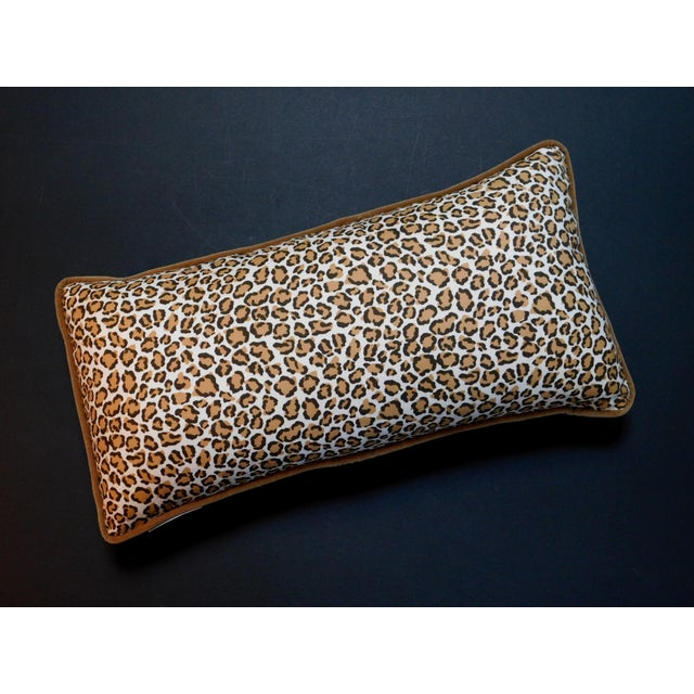 Cheetah Print Lumbar Pillow For Sale In San Francisco - Image 6 of 7