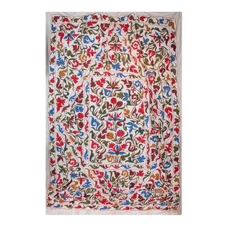 Late 20th Century Suzani II Textile Art For Sale