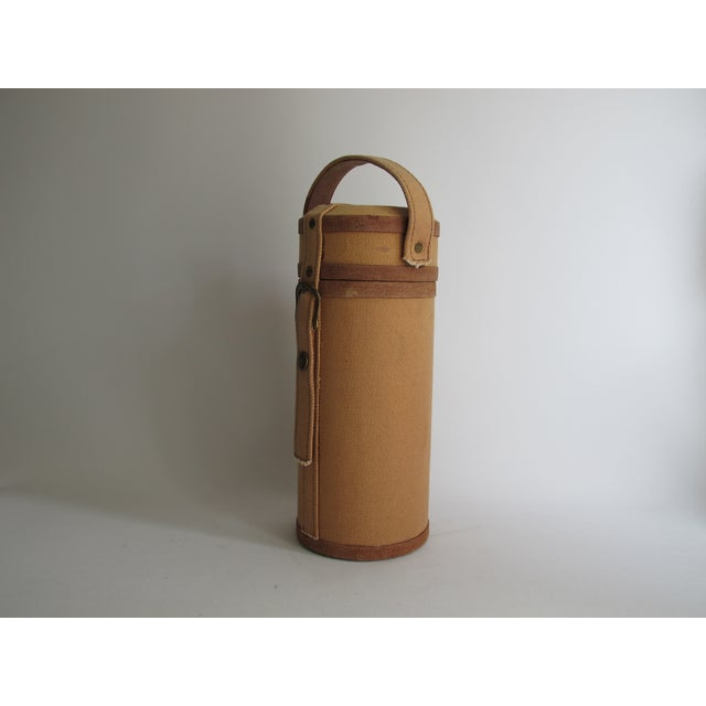 Tweed And Suede Wine Carrier - Image 3 of 8