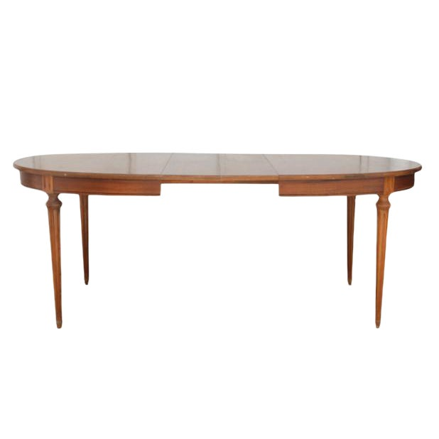 Louis XVI Style Dining Table - Image 1 of 5
