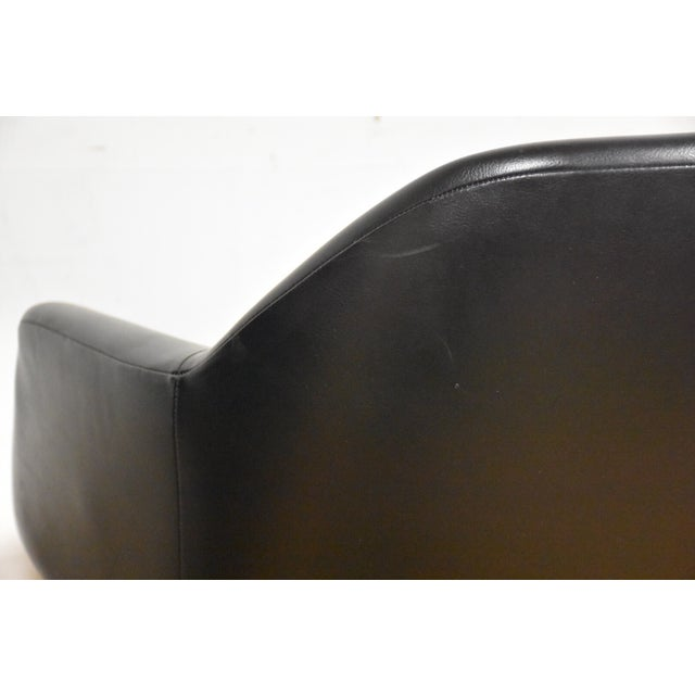 Steelcase Black & Chrome Lounge Chairs - A Pair - Image 8 of 9