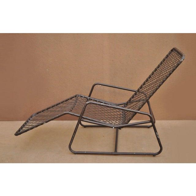 Brown Late 20th Century Vintage Brown Jordan Kantan Tamiami Tilt Lounge Chair For Sale - Image 8 of 10