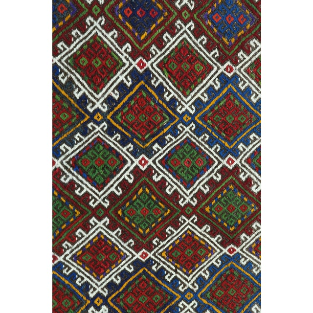 "Vintage Anatolian Kilim Runner-2'11'x11'2"" For Sale - Image 10 of 13"