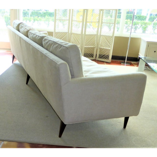 1950s Gio Ponti Bespoke Mid-Century Sofa by Singer & Sons, 1957 For Sale - Image 5 of 12