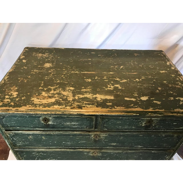 French 18th-c. Commode w/ Original Paint For Sale - Image 5 of 10