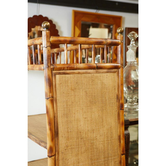 Wood Jw Custom Line Bamboo Bookcase For Sale - Image 7 of 8