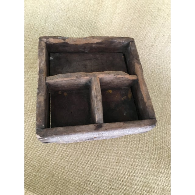 Wood 20th Century Asian Style Wood Box For Sale - Image 7 of 13