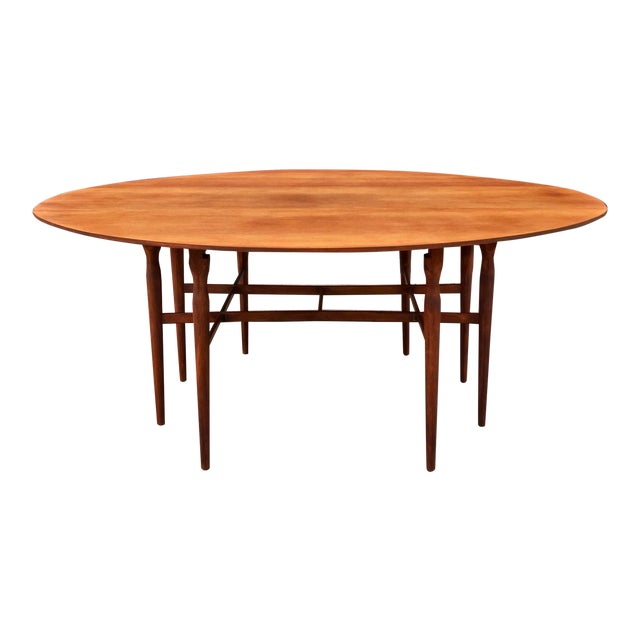 Mid-Century Drop Leaf Dining Table - Image 1 of 10