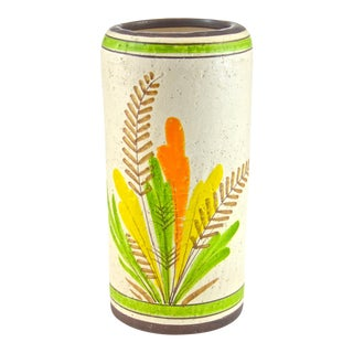 Italian Rosenthal-Netter Ceramic Vase, 1960s For Sale