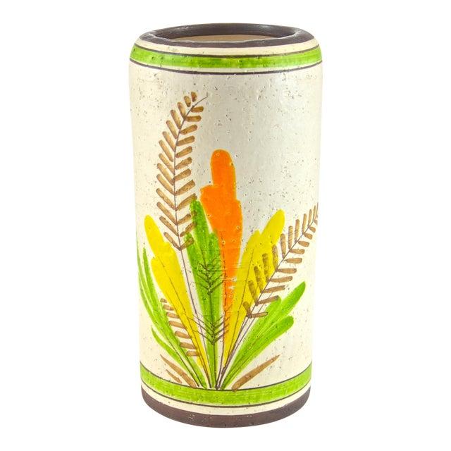 Italian Rosenthal-Netter Ceramic Vase, 1960s For Sale