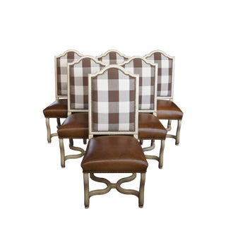6 Century Furniture Mill Room Side Chairs T29-531 Bob Timberlake French Country For Sale