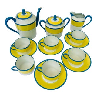 Tiffany & Co. Haviland Limoges Claude Monet A Giverny Dishes - Set of 14 For Sale