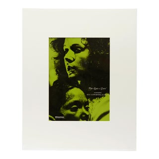 Carrie, 1976 / Vintage Movie Ad Art Transparency, Green Version For Sale