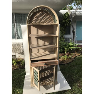 1970's Vintage Bamboo Etagere Preview