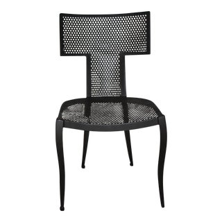 Modern Black Made Goods Hadley Chair--- an Indoor/Outdoor Chair