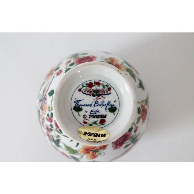 Ceramic Colorful Vintage Lidded Ginger Jar For Sale - Image 7 of 10