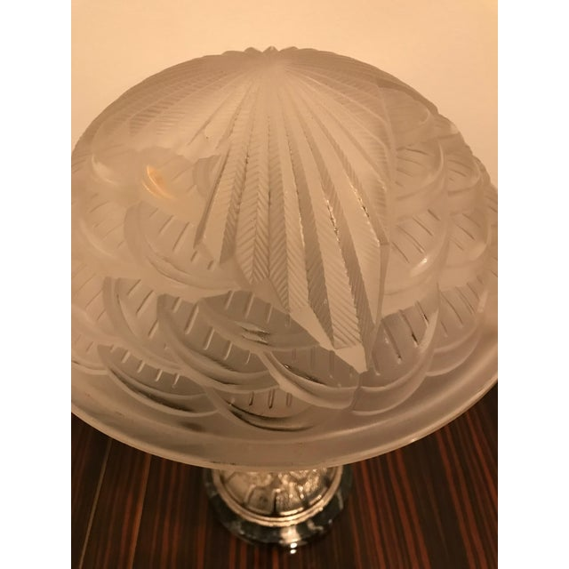 Schneider French Art Deco Geometric Table Lamps - a Pair For Sale In New York - Image 6 of 13